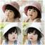 หมวกปีกเด็กหญิง ใส่ได้ 2 ด้าน น่ารักสไตล์เกาหลี thumbnail 1