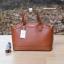 กระเป๋า MANGO SAFFIANO-EFFECT TOTE BAG สีน้ำตาล ราคา 1,090 บาท Free Ems thumbnail 1