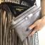 กระเป๋าคลัช แฟชั่นสไตล์ Hermes Clutch bag Snake skin หนังสวยมากค่ะ มาพร้อมสายยาว 990 ส่งฟรี ems thumbnail 8