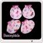 ถุงมือถุงเท้า cotton 100% (แพ็ค 12 เซ็ต) thumbnail 3
