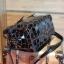 กระเป๋า David Jones กระเป๋าสะพายข้างดีไซน์เกร๋มาก สีดำเงาสวยหรูมาก ขนาดกะลังดีเลย thumbnail 6