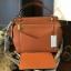 กระเป๋า CHARLES & KEITH LARGE TOP HANDLE BAG (Size L) สีส้ม ราคา 1,590 บาท Free Ems thumbnail 1