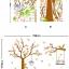 สติกเกอร์แต่งห้อง DIY การ์ตูนรูปนก กระรอก และต้นไม้ ขนาดใหญ่ ติดผนัง ลอกออกแล้วติดซ้ำได้ thumbnail 5