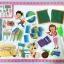 กระดานแม่เหล็กต่อภาพ เขียนได้ 2 หน้า Magnetic Puzzle thumbnail 2
