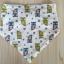 ผ้าซับน้ำลายสามเหลี่ยม ผ้ากันเปื้อนเด็ก แบบใช้ได้ 2 ด้าน / มี 4 ลาย thumbnail 7