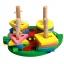 ของเล่นไม้ บล็อคไม้สวมหลัก เสริมพัฒนาการ รูปเต่าทอง thumbnail 3