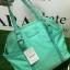 กระเป๋าถือ/สะพาย Mango Nylon Bag สวยหรู ดูดี กระเป๋าทำจากผ้าไนล่อน แต่งโลโก้สีทอง ทรง Tote รุ่นใหม่ล่าสุดออกแบบสไตล์ Prada รุ่นยอดนิยม thumbnail 10