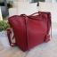กระเป๋า Amory Leather Everyday Tote Bag สีแดง กระเป๋าหนังแท้ทั้งใบ 100% thumbnail 7