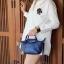 กระเป๋า KEEP Mini Longchamp Duo Sister Smoke Grey ราคา 1,390 บาท Free Ems thumbnail 7