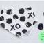 ผ้าซับน้ำลายสามเหลี่ยม ผ้ากันเปื้อนเด็ก [ผืนเล็ก] / XO thumbnail 1