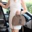 กระเป๋า KEEP Alma Infinite Handbag สีน้ำตาลโกโก้ ราคา 1,790 บาท Free Ems #ใบนี้หนังแท้ค่า thumbnail 7