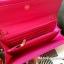 กระเป๋าสตางค์ ยาว สีชมพู แต่งมุม สุดเก๋ ขอบทอง ยี่ห้อ CHARLES & KEITH แท้ รุ่น METAL DETAIL WALLET thumbnail 4