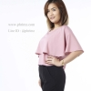 เสื้อให้นม Phrimz : Ivie Breastfeeding Top - Rose Pink