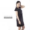 ชุดให้นม Phrimz : Marble Breastfeeding Dress - Black สีดำ