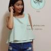เสื้อให้นม Phrimz : Belle breastfeeding top - Mint สีเขียวอ่อน