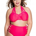 ชุดว่ายน้ำคนอ้วนพร้อมส่ง :ชุดว่ายน้ำคนอ้วนทูพีชสีชมพูแต่งสายผูกคอด้านหลัง แบบเก๋ sexy มากๆจ้า:รอบอก44-50นิ้ว เอว34-42นิ้ว สะโพก42-50นิ้วจ้า