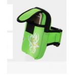 กระเป๋าคาดเขนสีเขียว
