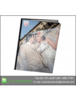 Album LCD ขนาด 8x 10 นิ้ว แนวตั้ง 20 หน้า ปกอะครีลิค