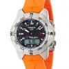 นาฬิกาผู้ชาย Tissot รุ่น T33787892, T-Touch Titanium Orange Rubber