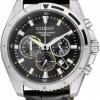 นาฬิกาข้อมือผู้ชาย Citizen รุ่น AN8015-01E, Quartz Chronograph Gent's 100m Leather Sports Watch