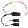 อุปกรณ์ทำให้กล้องทำงานขณะจอดรถทิ้งไว้ สำหรับ 2 กล้องทำงานพร้อมกัน LUKAS LK-290-12/24VT Power Cable for LUKAS Black Box *B Type
