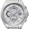 นาฬิกาข้อมือผู้ชาย Citizen Eco-Drive รุ่น CA0350-51A, Super Titanium 100m Sapphire Chronograph Watch