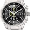 นาฬิกาข้อมือผู้ชาย Citizen Eco-Drive รุ่น CA0131-55E, Titanium Adventure Chronograph