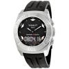 นาฬิกาผู้ชาย Tissot รุ่น T0025201705100, Racing-Touch Black Dial Chrono Rubber Strap Watch