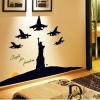 สติกเกอร์เครื่องบินรบอุ๊ต๊ะ!!!!มาทั้งกองทัพเลย (เรืองแสง)