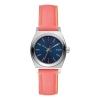 นาฬิกาผู้หญิง Nixon รุ่น A5092077, Blue Dial Analog Quartz Watch with Leather Strap