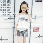 PX363 -เสื้อ+กางเกง 5 ชุด/แพค ไซส์ 120-160