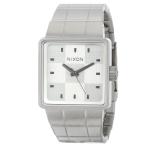 นาฬิกาผู้ชาย Nixon รุ่น A013100, Silver Dial Analog Quartz Watch with Stainless Steel Strap