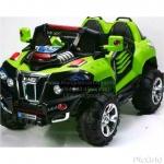 JeepRobot Big 2ที่นั่ง (#เล่นUSB+SD+mp3, #2มอเตอร์1แบต12V, #มีโช้ค, #มีที่เก็บของ, เปิดประตูได้)