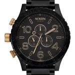 นาฬิกาผู้ชาย Nixon รุ่น A083-1041-00, Matte Black Chronograph 300M