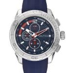 นาฬิกาผู้ชาย Nautica รุ่น A18724G, NST 101 Chronograph Blue Dial Silicone