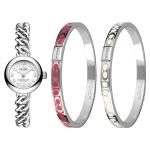 นาฬิกาผู้หญิง Coach Waverly 14000054 Silver Stainless-Steel Quartz Watch