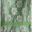 Sold เดรสยาว แขนตุ๊กตา ต่อใต้อก ซิปหลัง ผ้าลูกไม้ สีขาว ซับใน สีเขียว thumbnail 2