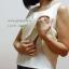 เสื้อให้นม Phrimz : Belle breastfeeding top - Butter สีครีม thumbnail 4
