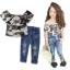 ID371- เสื้อ+กางเกง 6 ชุด /แพค ไซส์ 90-140 thumbnail 1