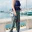 ชุดว่ายน้ำคนอ้วน พร้อมส่ง :ชุดว่ายน้ำไซส์ใหญ่สีดำแต่งลายโบฮีเมียนสีน้ำเงินเขียวสีสันสดใส set 4 ชิ้นมีเสื้อตัวนอก บราตัวใน กางเกงขาสั้น กางเกงขายาว แบบเก๋น่ารักมากๆจ้า:รายละเอียดไซส์คลิกเลยจ้า thumbnail 5