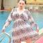 ชุดว่ายน้ำคนอ้วน พร้อมส่ง :ชุดว่ายน้ำไซส์ใหญ่สีขาวแต่งลายกราฟฟิกสีสันสดใสแบบเก๋ set 3 ชิ้น มีบราแบบผูกได้หลายแบบ กางเกงขาสั้นและเสื้อคลุมน่ารักมากๆจ้า:รายละเอียดไซส์คลิกเลยจ้า thumbnail 5