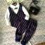ID336- เสื้อ+กางเกง+เสื้อกั๊ก 5 ชุด /แพค ไซส์ 90-130 thumbnail 1