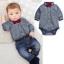 ID432-เสื้อ+กางเกง 4 ชุด /แพค ไซส์ 70-100 thumbnail 1