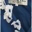 Sold Christian Dior เดรส อกป้าย แขนในตัว เข้าเอว กระดุม+ซิปหลัง สีน้ำเงิน แต่งดอกไม้ สีขาว thumbnail 2
