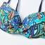 ชุดว่ายน้ำคนอ้วน พร้อมส่ง :ชุดว่ายน้ำไซส์ใหญ่สีดำแต่งลายโบฮีเมียนสีน้ำเงินเขียวสีสันสดใส set 4 ชิ้นมีเสื้อตัวนอก บราตัวใน กางเกงขาสั้น กางเกงขายาว แบบเก๋น่ารักมากๆจ้า:รายละเอียดไซส์คลิกเลยจ้า thumbnail 8