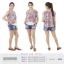เสื้อให้นม Phrimz : Malee Breastfeeding Top - Gray thumbnail 6