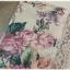 Sold เดรสสั้น ปกกะลาสี แขนกุด เข้าเอว กระดุมหน้า พื้นสีขาว ลายดอก thumbnail 4
