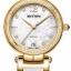 นาฬิกาผู้หญิง Rhythm รุ่น L1504L03, Diamond Sapphire Gold Leather L1504L 03, L1504L-03 thumbnail 1