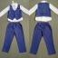 ID322- เสื้อ+กางเกง+เสื้อกั๊ก 5 ชุด /แพค ไซส์ 100-140 thumbnail 1