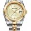 นาฬิกาผู้หญิง Rhythm รุ่น R1203S04, Traditional Oyster Sapphire Dual Tone Gold R1203S 04, R1203S-04 thumbnail 1